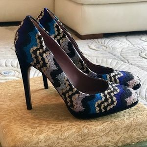 Missoni pumps brand new never worn size 37